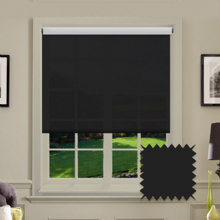 Black Roller Blind - Astral Noir